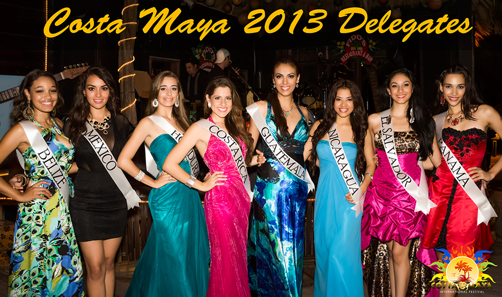 Reina de la Costa Maya Delegates - International Costa Maya Festival