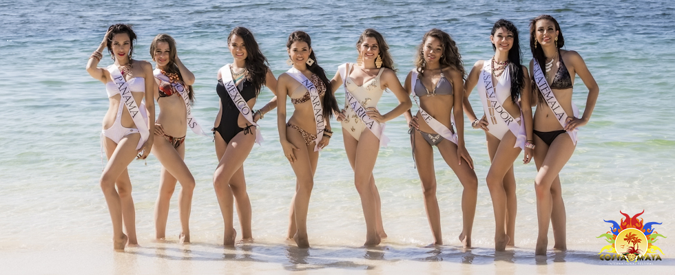 Miss Costa Maya Official Photo Shoot at Ramon's Village