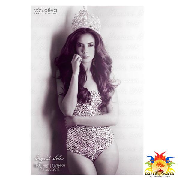 Miss Universe 2018 Height >> Miss Mexico - Miss Costa Maya International 2016 Contestant - International Costa Maya Festival