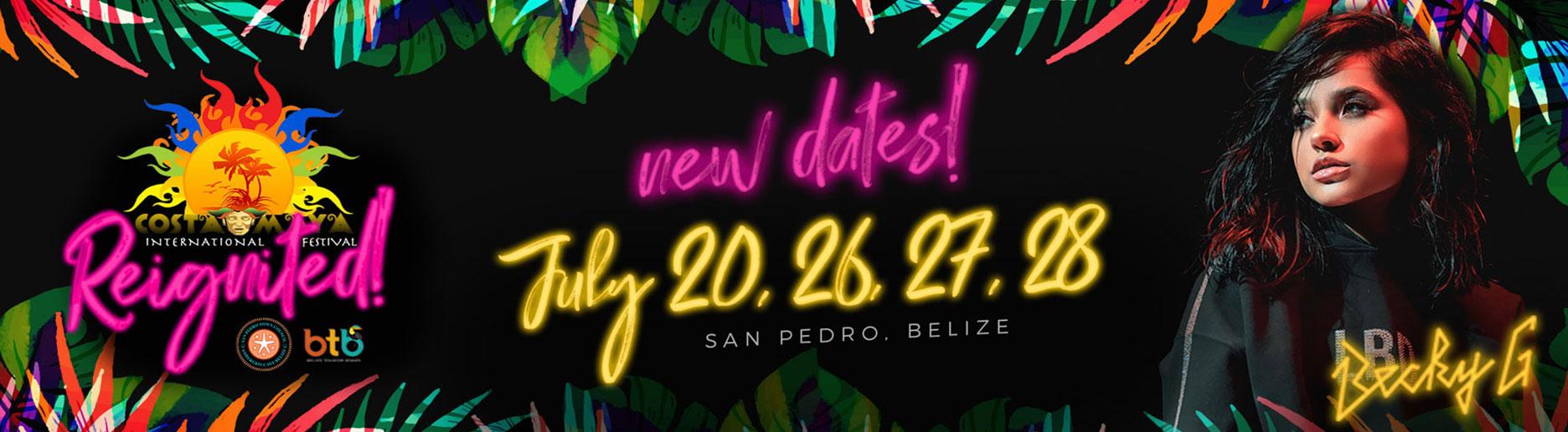 Becky G Live in San Pedro Belize - International Costa Maya
